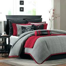 gallery of stars printed cotton duvet cover grey print la redoute interieurs better red and superb 16