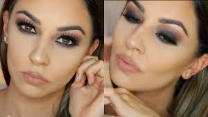 fall smokey eye makeup tutorial for hooded eyes