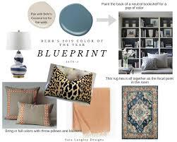 Blueprint Interior Design Painting Cool Design