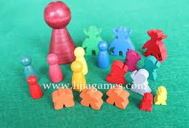 Wooden Game Tokens Cool Lijia Game Production Board Game Manufacturing Card Game