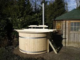 diy wood burning hot tub