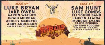 Lineup Announced For 2019 Off The Rail Country Music Fest At