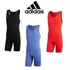 Adidas Weightlifting Singlet Size Chart Adidas Mens Powerlift Suit Weightlifting Suit Adidas Gewichtheben Trikot Ebay