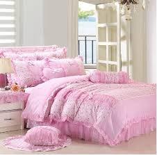 pink bedroom sets for girls. Beautiful Girls Hot Pink Comforter Set Queen Girls Lace Princess Pastoral Bedding  Throughout Design 19 Inside Bedroom Sets For E