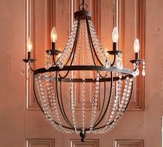 pottery barn chandelier pertaining to quinn designs 5