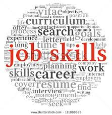 job skills clipart clipartfest job skills concept in word tag