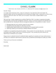 Sample Cover Letter For Data Entry Clerk Position Guamreview Com