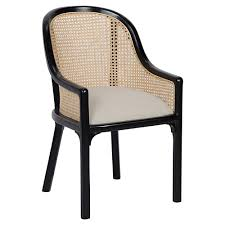upolstered dining chairs. Lizzette French Country Black Mahogany Linen Upholstered Dining Chair | Kathy Kuo Home Upolstered Chairs P