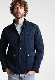 Selected Homme SHDELTON QUILTED - Light jacket - dark sapphire ... & Selected Homme SHDELTON QUILTED - Light jacket - dark sapphire -  Zalando.co.uk Adamdwight.com