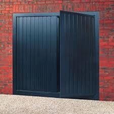 Decorating wicket door images : Steel Up & Over with Wicket Door - Doormatic Garage Doors