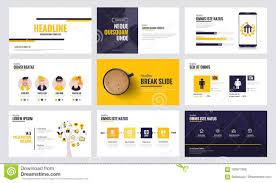 Slide Desigh Infographics Slide Template Design 6 Stock Vector