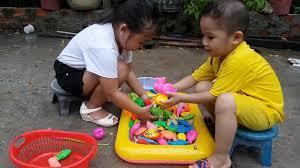 Trò Chơi Bé Ken Vừa Chơi Vừa Học ❤ ChiChi ToysReview TV ❤ Đồ Chơi Trẻ Em  Baby Doli Fun Song Bài Hát - YouTube
