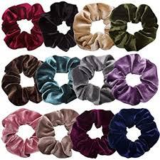 Scrunchies for Hair,12 Pcs Soft Hair Scrunchy ... - Amazon.com