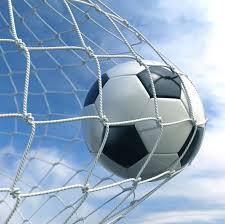 Футбольный мяч в сетке — <b>Soccer ball</b> in the net