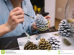Pine Cone Christmas Decorations Pine Cone Decorations For Christmas 21 Holiday Pine Cone Crafts