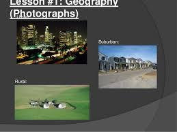 Urban Suburban Rural Social Studies Unit Communities Urban Suburban Rural Second