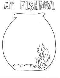 Small Picture Fish bowl free fishbowl coloring pages clipart image 33943