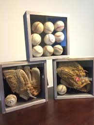 sports office decor. Designed For A Sports Themed Room Very Simple Shadow Boxes I Found Used Baseballs Office Decorating Ideas Decor F