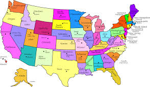 united states labeled map us maps labeled us maps of the world