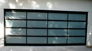 Exterior Frosted Glass Garage Doors Cost Perfect On Exterior