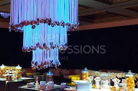 cordis hotel launch donut chandelier