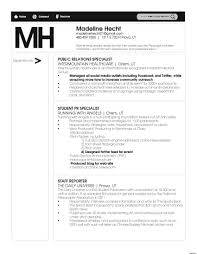 Public Relations Resume Sample Public Relations Resume Examples Entry Level Best Vesochieuxo 16