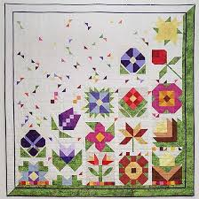 Quilted Garden Quilt Finishing Kit - Welcome to Charlotte's Sew ... & Quilted Garden Quilt Finishing Kit Adamdwight.com