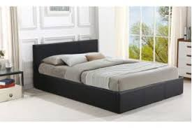 Gas Lift Storage Pu Leather Bed Frame King Size BLACK - Kogan.com