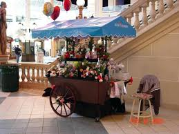 wood vendor cart refrigerated mall ping center flowers a la track lighting wood wagon wheels town