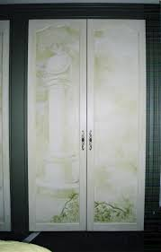painted closet doors. Hand Painted Closet Doors