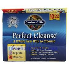 picture of garden of life perfect cleanse 10 day cleansing kit