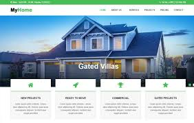 real state template real estate website html template free download