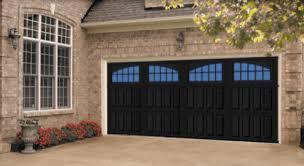 S Black Garage Door Utah