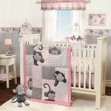 bedtime originals pinkie 3 piece crib bedding set multi color com
