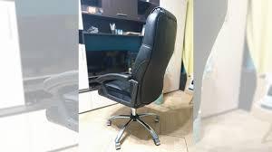 <b>Кресло</b> TetChair bergamo (хром) кож/зам, Черный купить в ...