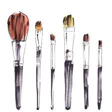 brushes time lapse ilration miminne paintbrush ilration beauty ilration makeup ilrations art ilrations photography ilration fashion