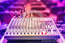 audio music mixer and sound equalizer dj equipment and nightclub audio music mixer and sound equalizer dj equipment and nightclub accesories at party in modern