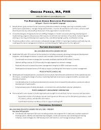 10 Hr Generalist Resume Credit Letter Sample
