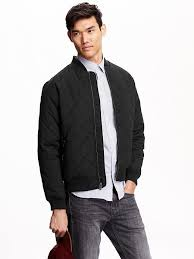 Men's Quilted Bomber Jackets | Stuff to Buy | Pinterest | Male fashion & Men's Quilted Bomber Jackets Adamdwight.com
