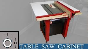 Building a Table Saw for the Apartment Workshop