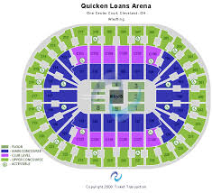 Quicken Loans Seating Chart Quicken Loans Arena Club Seats Nine West Shoe Stores