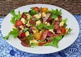 bacon and stilton salad