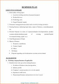 A Simple Business Plan Template Quick Businesslan Template And Easy Simple Fast Food Free
