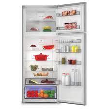 Arçelik 570464 MI A++ 406 lt Çift Kapılı No-Frost Buzdolabı Inox Fiyatları