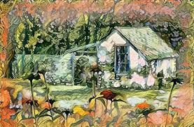 my secret garden watercolor