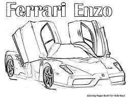Ferrari Coloring Pages Jacb Me