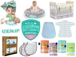 Giveaway - Win All The Baby Registry Essentials For Your New Baby