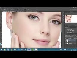how to add makeup change eye and hair colour in photo cs6