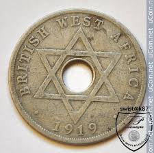 1 Penny 1912 1936 British West Africa Coin Value Ucoin Net
