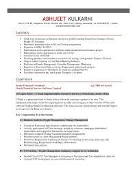 test analyst cv sample